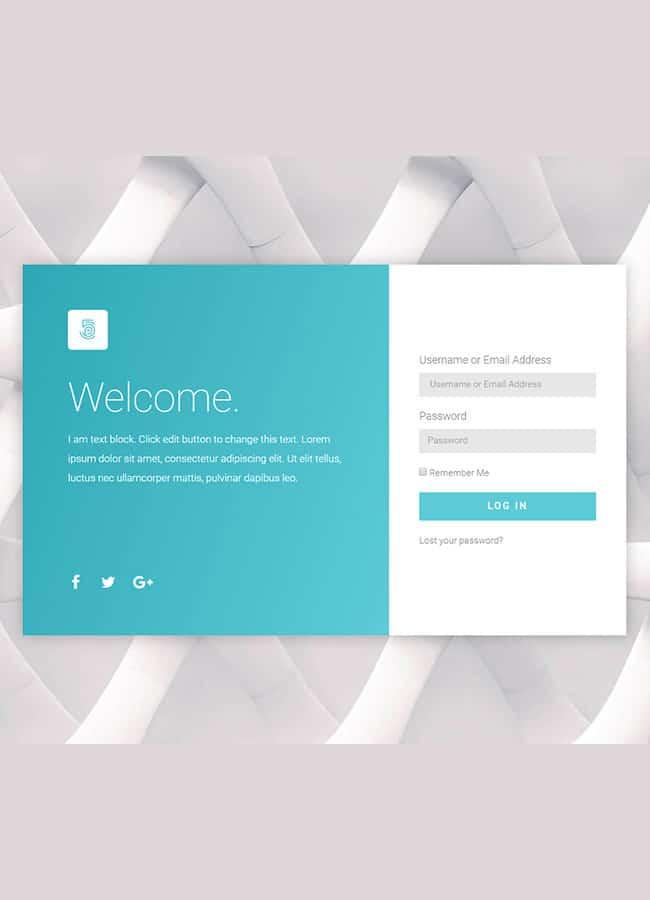 Templejt za veb stranica -Login Page 2 - Veb dizajn, Темплејт за веб страница- Login Page 2 - Веб дизајн