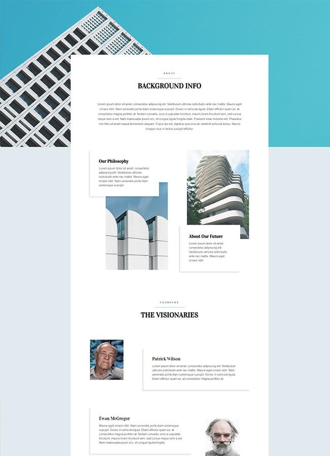 Templejt za veb stranica - Architect About - Veb dizajn, Темплејт за веб страница- Architect About - Веб дизајн