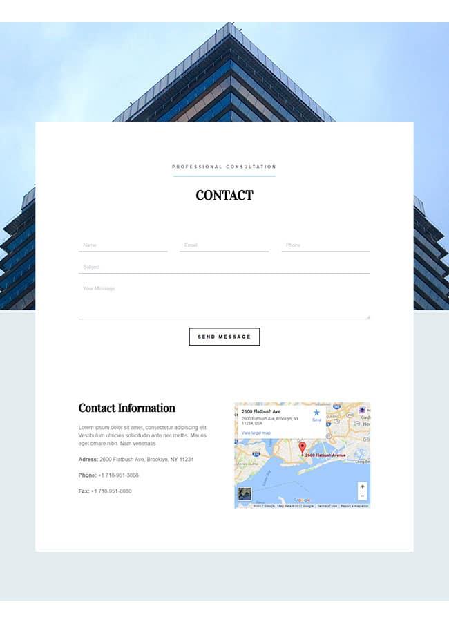 Templejt za veb stranica - Construction contact page - Veb dizajn, Темплејт за веб страница- Construction contact page - Веб дизајн