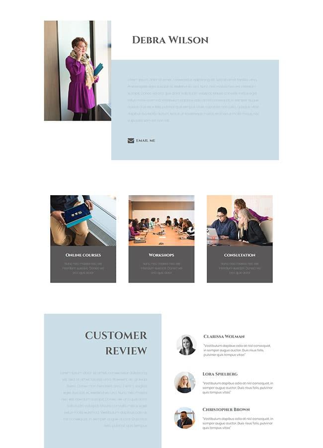 Templejt za veb stranica - About Personal - Veb dizajn, Темплејт за веб страница -About Personal - Веб дизајн