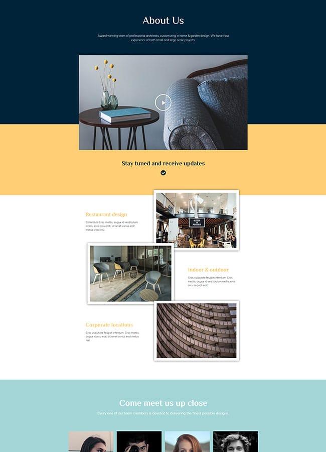 Templejt za veb stranica - About Architecture - Veb dizajn, Темплејт за веб страница - About Architecture - Веб дизајн