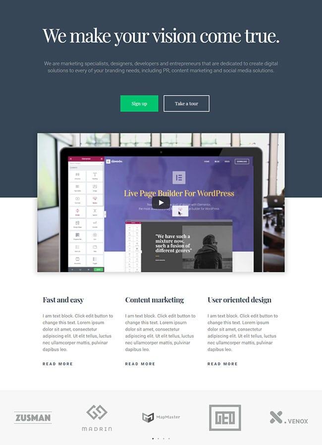 Templejt za veb stranica - Landing Page Webinar - Veb dizajn, Темплејт за веб страница - Landing Page Webinar - Веб дизајн