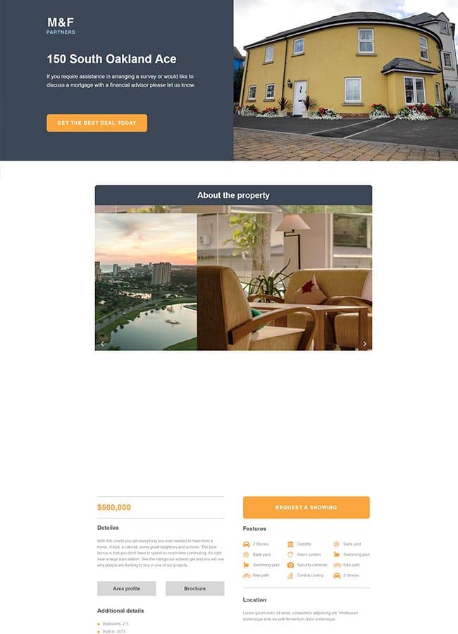 Templejt za veb stranica - Landing Page Real Estate 4 - Veb dizajn, Темплејт за веб страница - Landing Page Real Estate 4 - Веб дизајн
