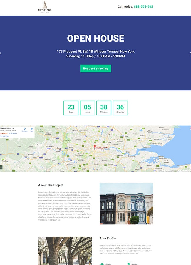 Templejt za veb stranica - Landing Page Real Estate 5 - Veb dizajn, Темплејт за веб страница - Landing Page Real Estate 5 - Веб дизајн
