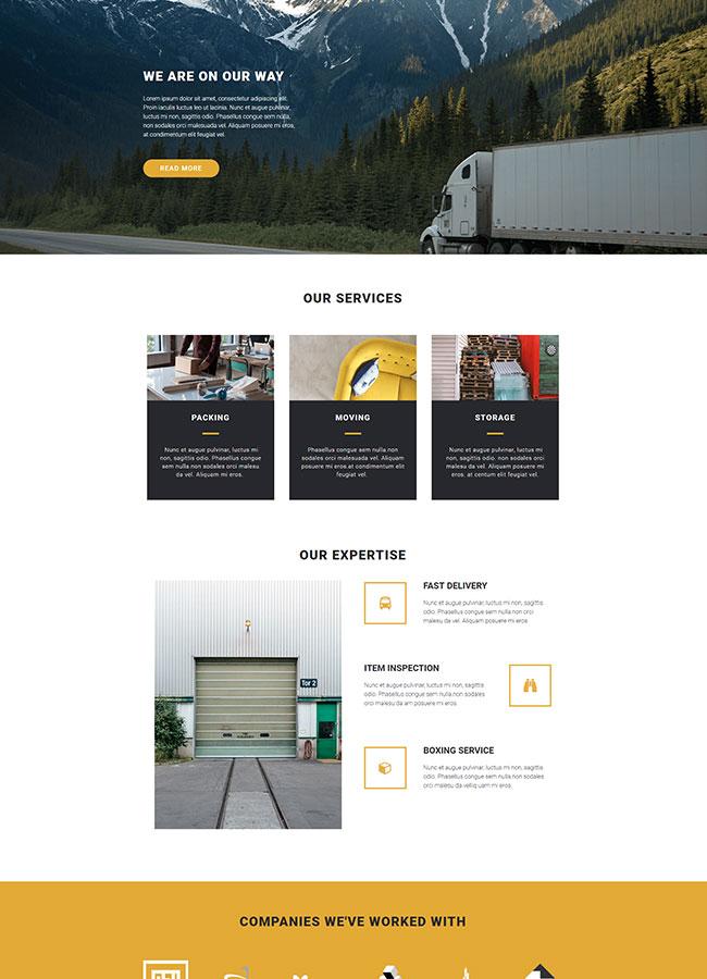 Templejt za veb stranica - Services Moving - Veb dizajn, Темплејт за веб страница - Services Moving - Веб дизајн