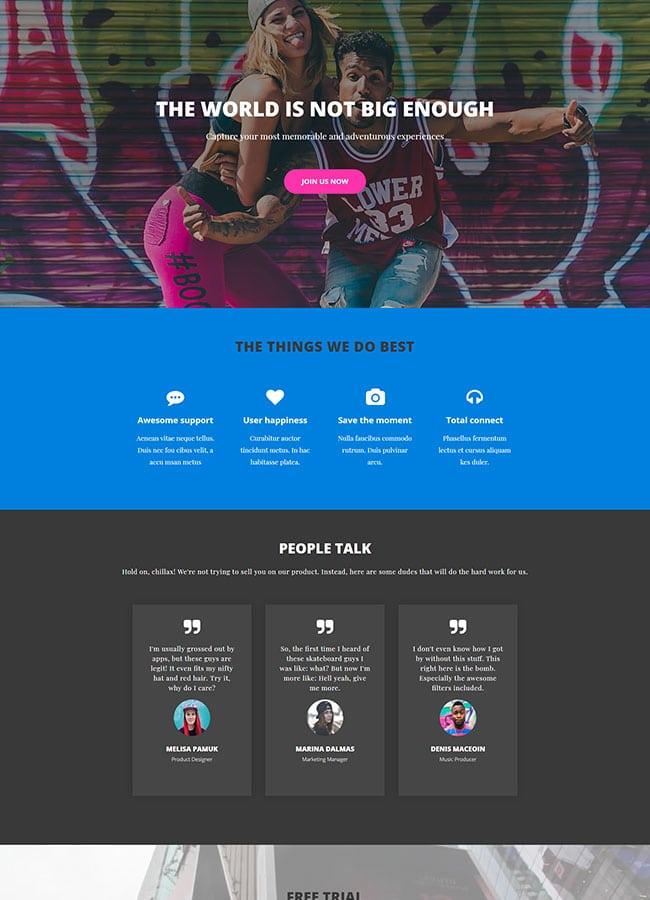 Templejt za veb stranica - Services Fun - Veb dizajn, Темплејт за веб страница - Services Fun - Веб дизајн