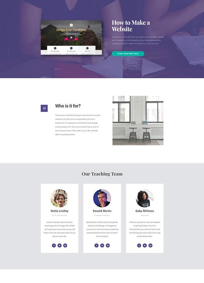 Templejt za veb stranica - Homepage Study - Veb dizajn, Темплејт за веб страница - Homepage Study- Веб дизајн