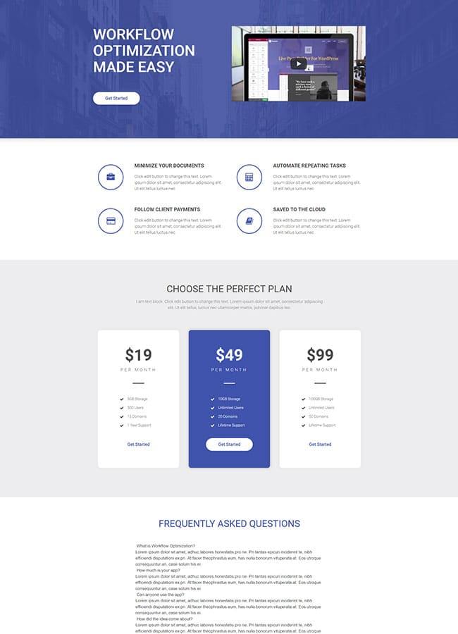 Templejt za veb stranica - Product App - Veb dizajn, Темплејт за веб страница - Product App - Веб дизајн