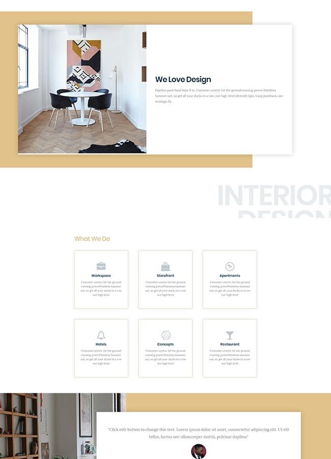 Templejt za veb stranica - Services Interior - Veb dizajn, Темплејт за веб страница - Services Interior - Веб дизајн