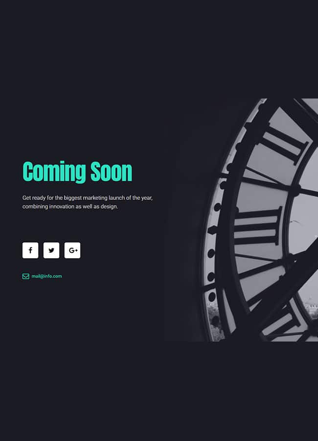 Templejt za veb stranica - Coming Soon 2 - Veb dizajn, Темплејт за веб страница - Coming Soon 2 - Веб дизајн