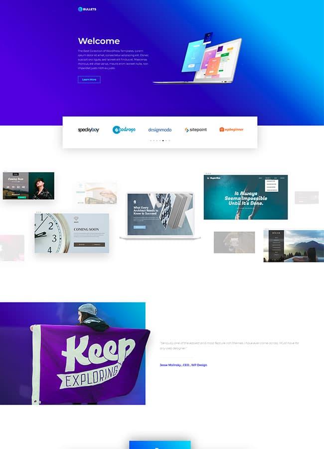 Templejt za veb stranica - Homepage Product - Veb dizajn, Темплејт за веб страница - Homepage Product - Веб дизајн