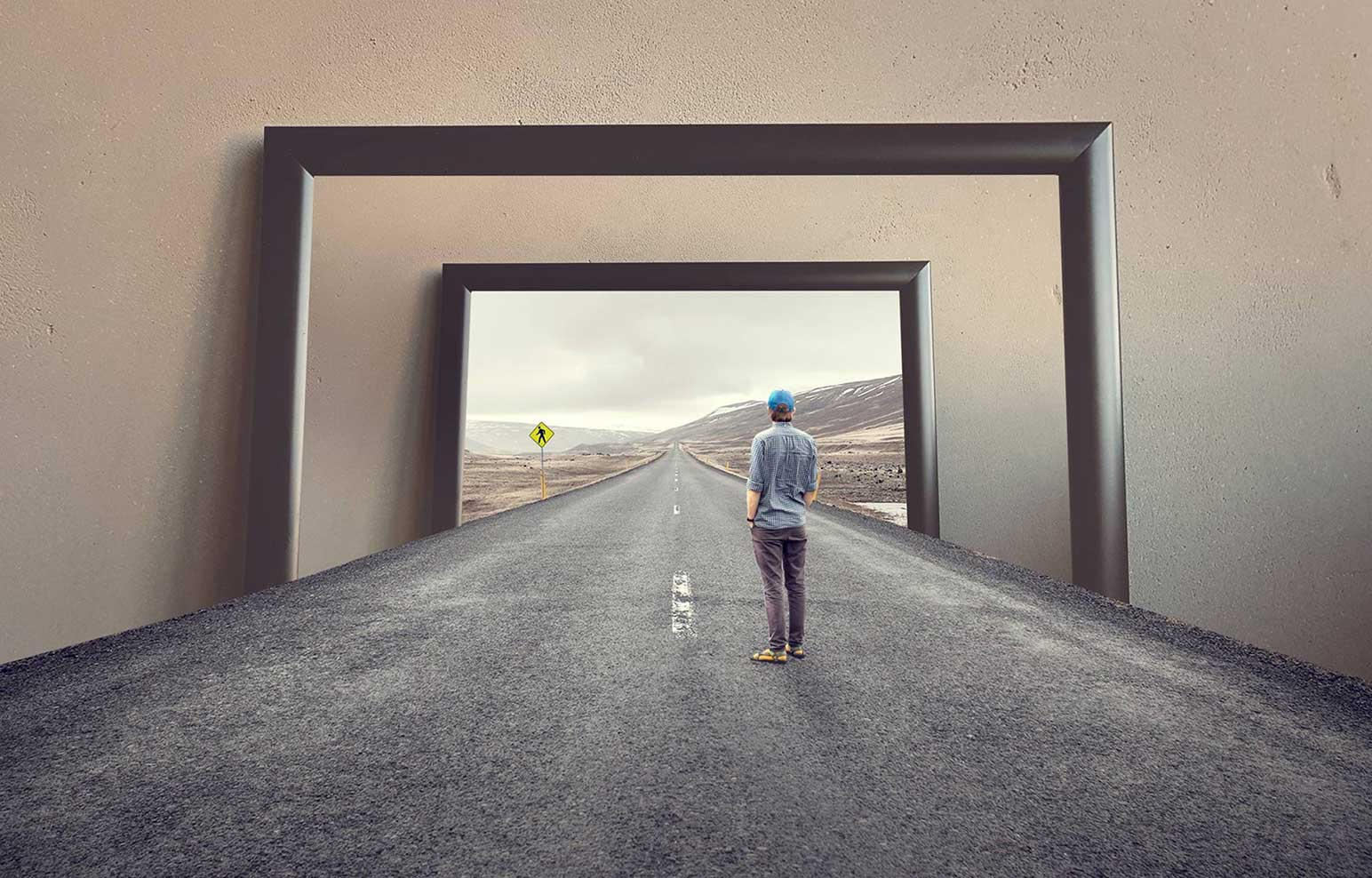 Paradoksalna fotografija kreirana vo Fotosop - Graficki dizajn, Парадоксална фотографија креирана во Фотошоп - Графички дизајн