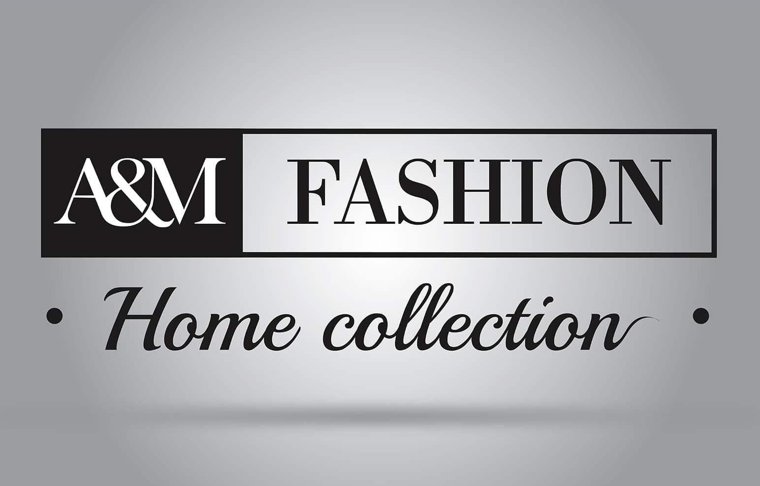 Logo iskreirano za kompanijata A&M Fashion, Лого искреирано за компанијата A&M Fashion