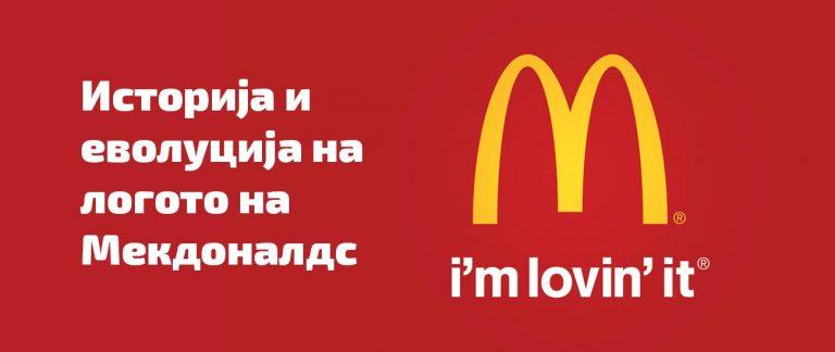 Istorijat i sozdavanje na logoto na McDonald's, Историјат и создавање на логото на Мекдоналдс