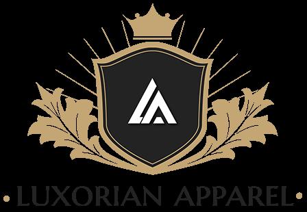 Luxorian Apparel - Izraboteno logo