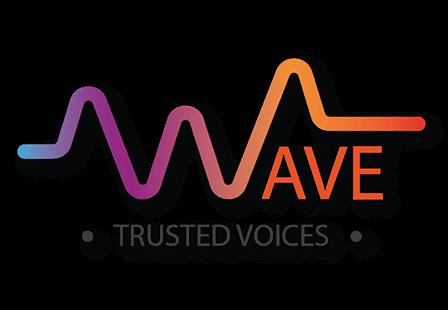 Trusted voices - Izraboteno logo